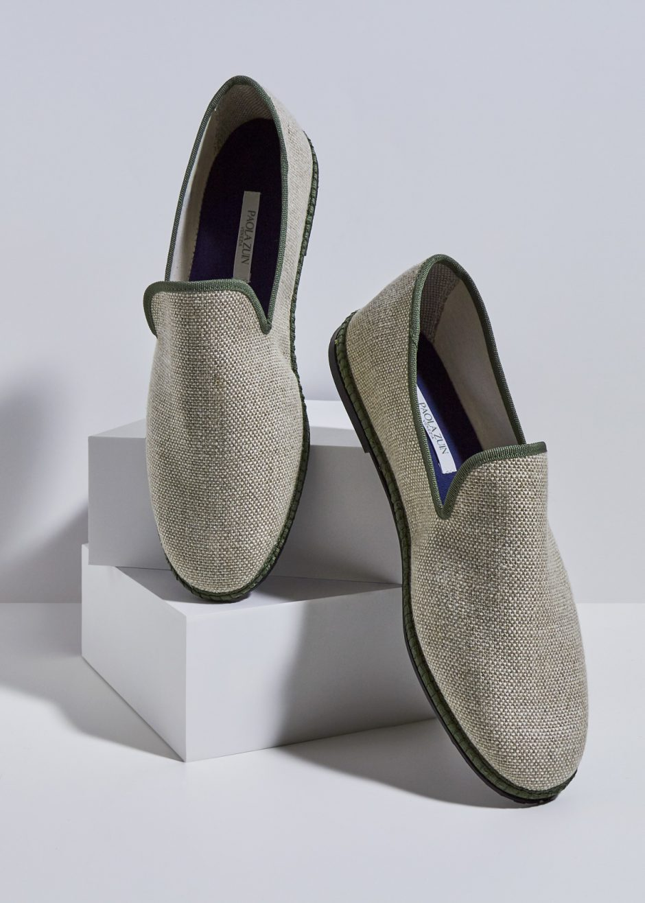 Gatsby – Furlana in lino flax beige