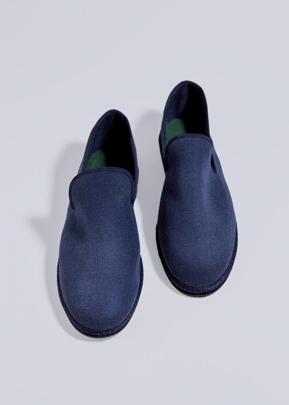 Gatsby – Furlana in cotone blu