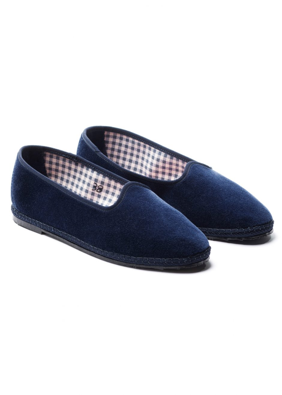 Rialto – furlana blue velvet