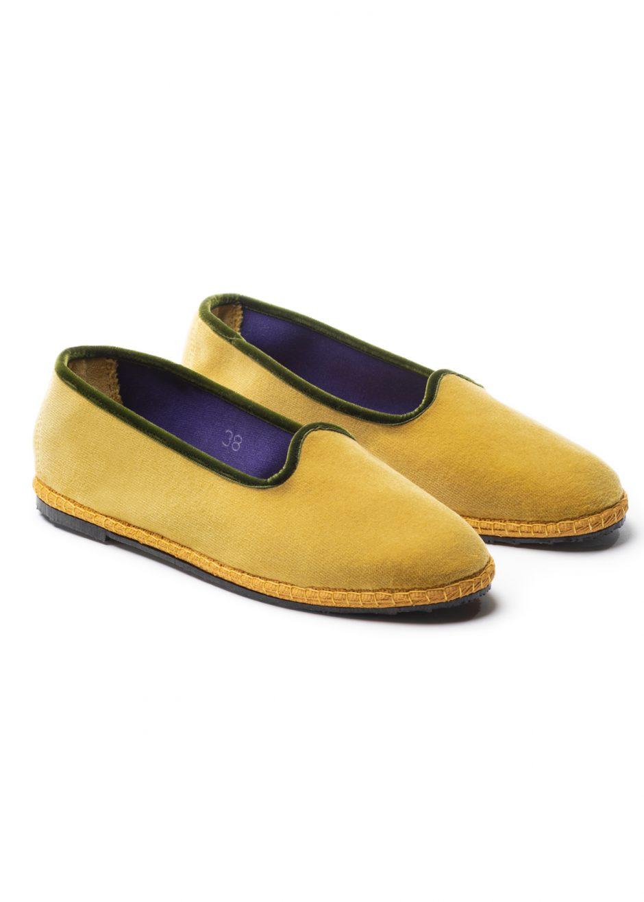 Rialto – Furlana mustard velvet