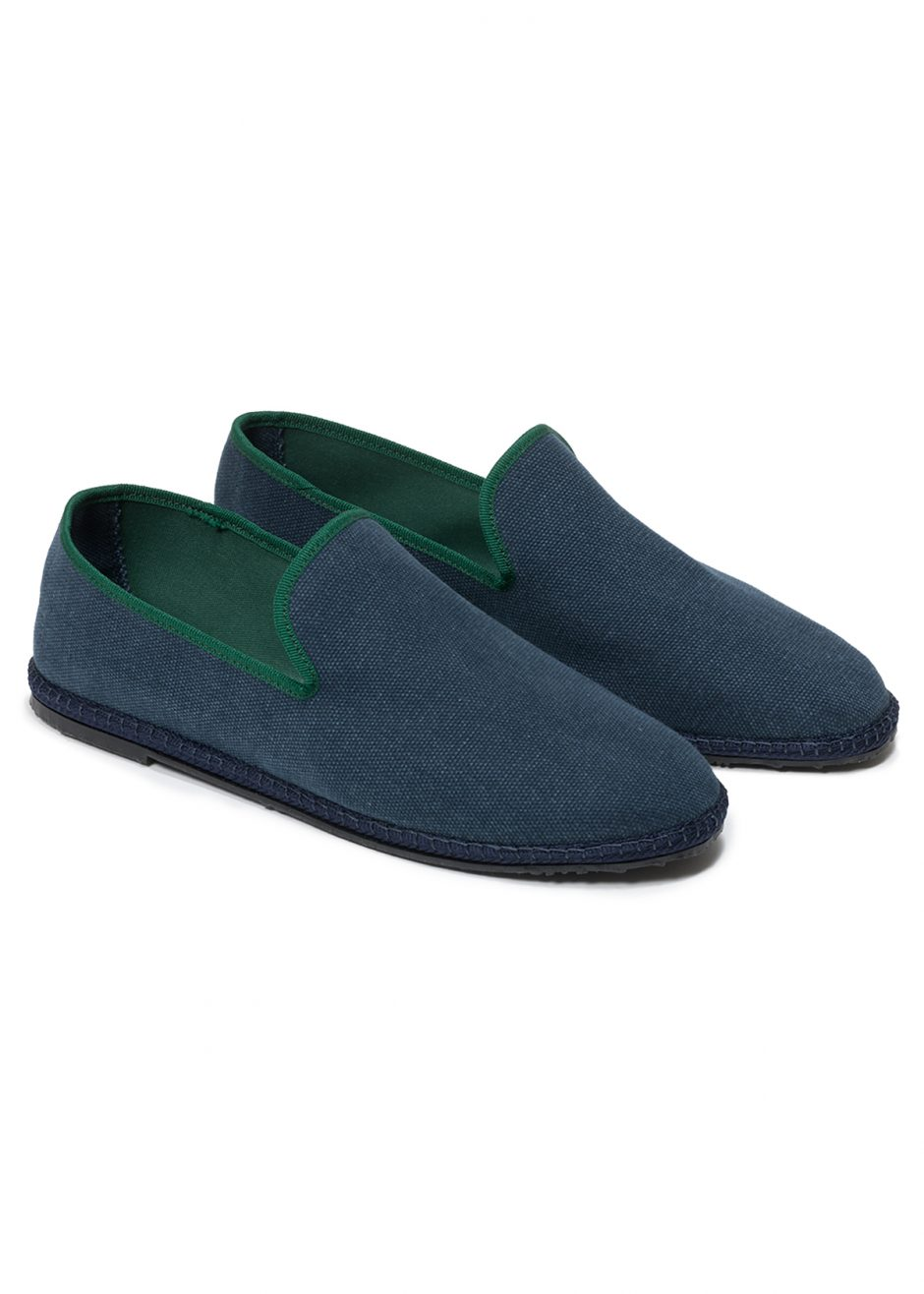 Capri – Furlana in cotone blu