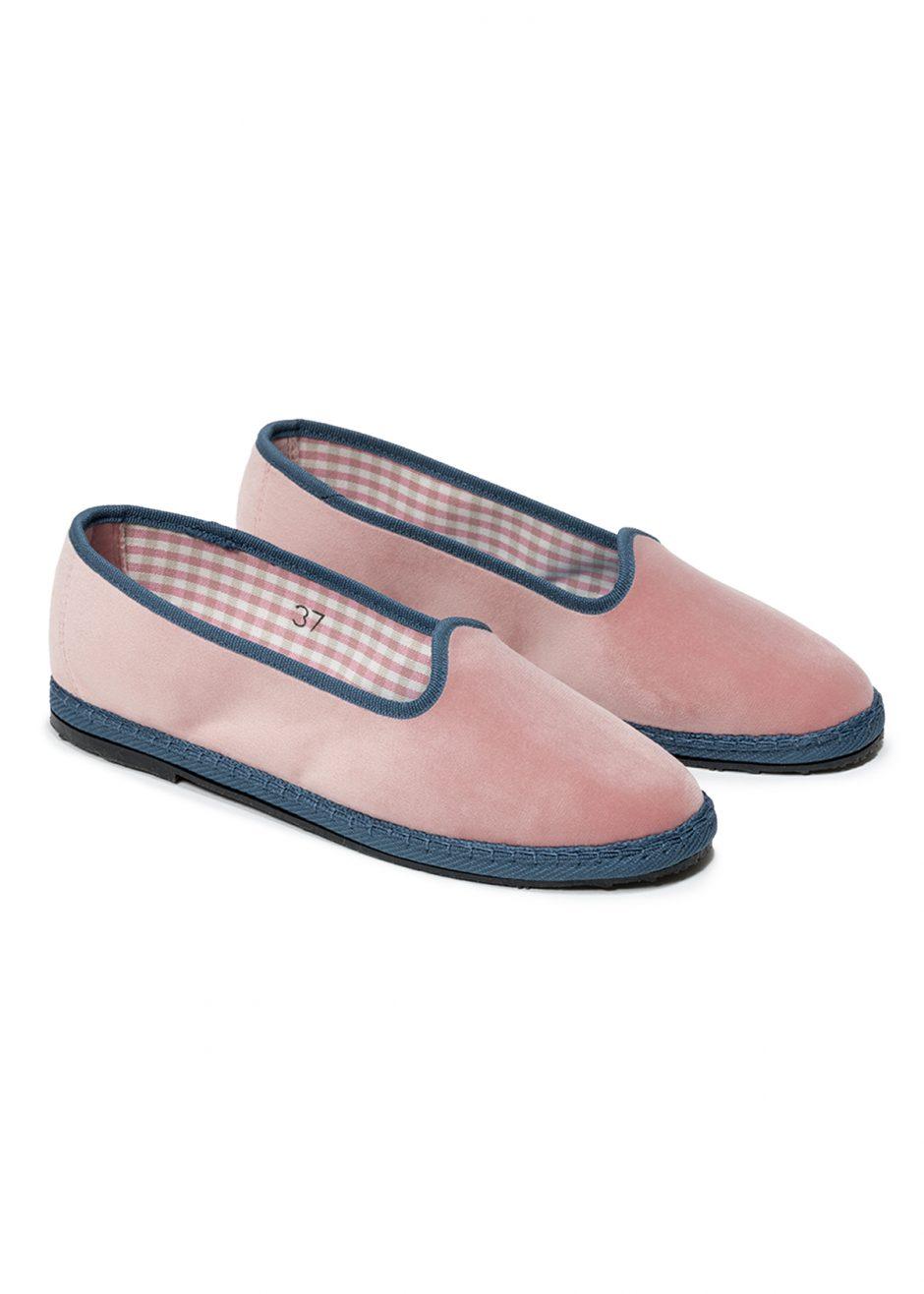 Rialto – Furlana powder pink velvet